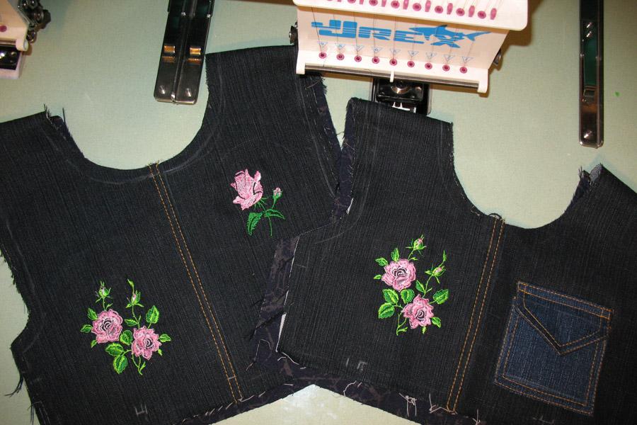 Вышивка на одежду омск
